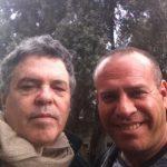 עם הבמאי עמוס גיתאי