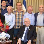 עם נשיא המדינה מר ראובן ריבלין
