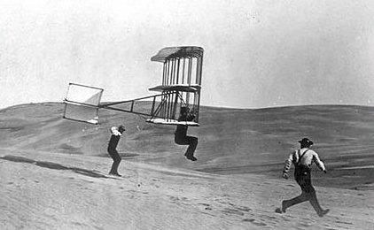 סוף המאה ה19, האחים רייט