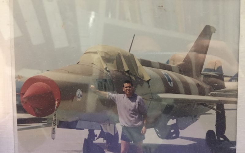 Avi is a young instructor at the Air Force Museum