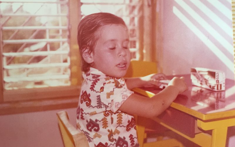 Avi was three years old when the Yom Kippur War broke out on October 6, 1973 at 1400